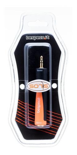 adaptador bespeco slad140 jack stereo a miniplug stereo