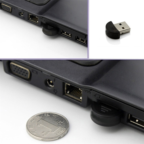 adaptador bluetooth 2.0 usb dongle notebook pc 3 mbps 10m