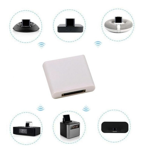 adaptador bluetooth 30 pinos dock station novo