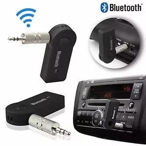 adaptador bluetooth a 3.5mm recargable ideal carro radio sky