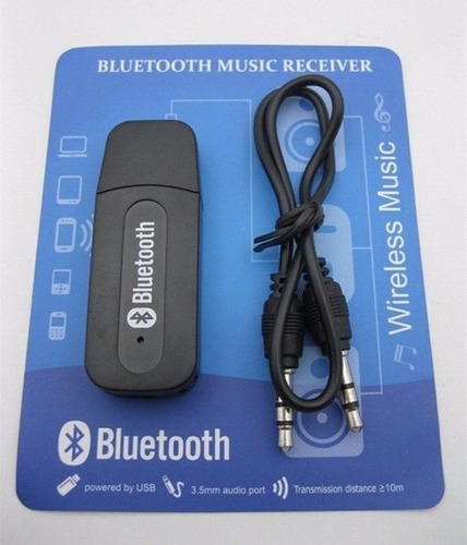 adaptador bluetooth aux equipos de sonido auto radio