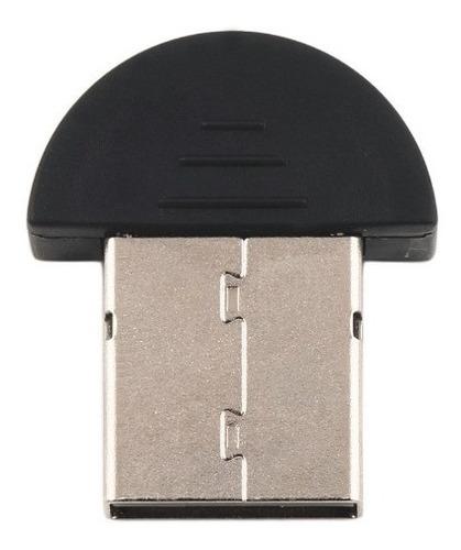 adaptador bluetooth dongle usb 2.0 preto para computador