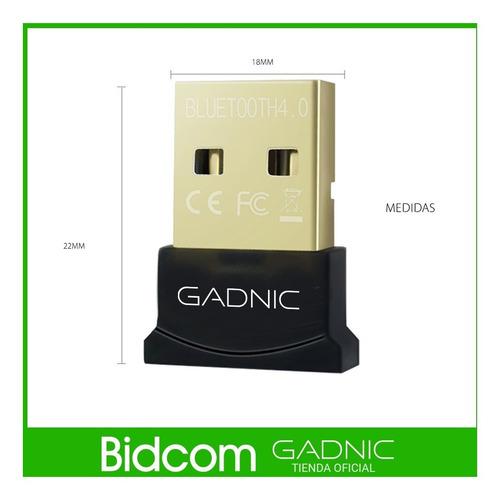 adaptador bluetooth gadnic mini dongle bluetooth 4.0