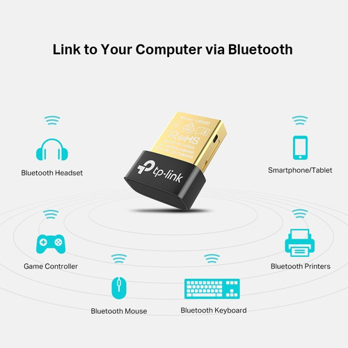 adaptador bluetooth usb nano tp-link ub400 notebook pc
