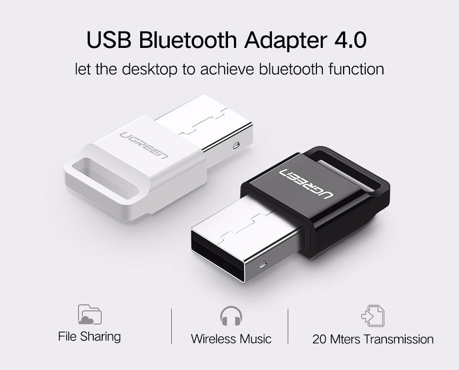 Adaptador bluetooth usb ugreen bt 4 0 pc laptop s 40 00 for Bluetooth adaptador