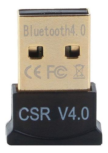 adaptador bluetooth version 4.0 micro usb csr 4.0
