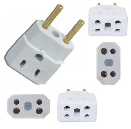adaptador bob esponja kit 100 pçs benjamin 10a/20a plug pino