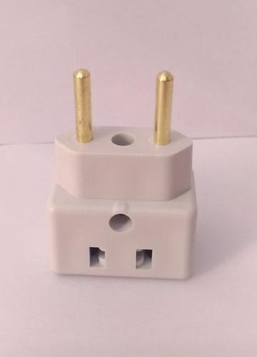 adaptador bob esponja kit 10pças benjamin 10a/20a plug pino