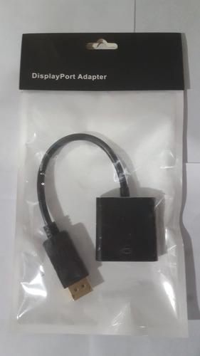 adaptador cable hdmi a vga con audio