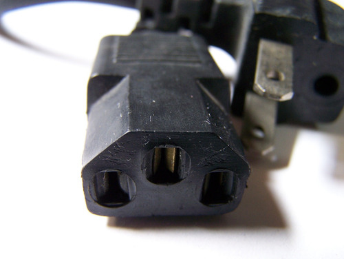adaptador cabo de força