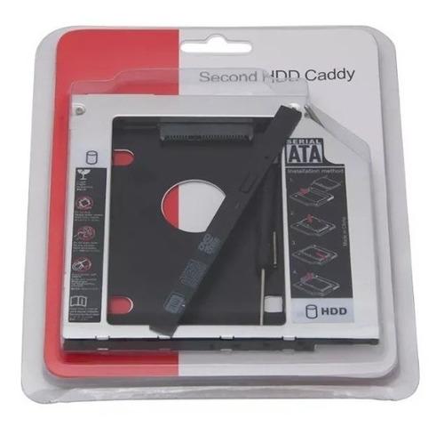 adaptador caddy 9.5mm dvd para hd ssd dell inspiron 14-3442