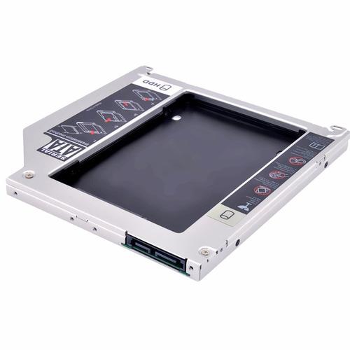 adaptador caddy dvd para segundo hd ou ssd 2.5 sata 9.5m t41
