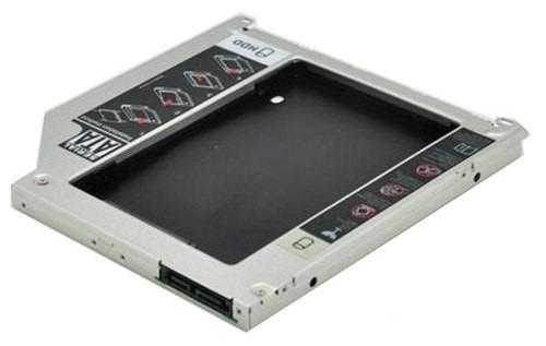 adaptador caddy macbook, pro hd sata 9.5mm