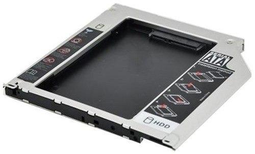 adaptador caddy sata 9,5mm p/ hdd - macbook