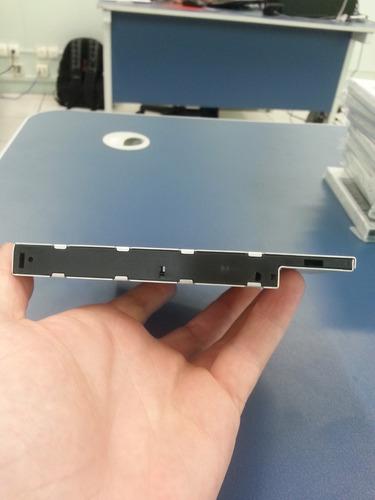 adaptador caddy sata/sata 12.7mm para segundo hd / ssd 2.5