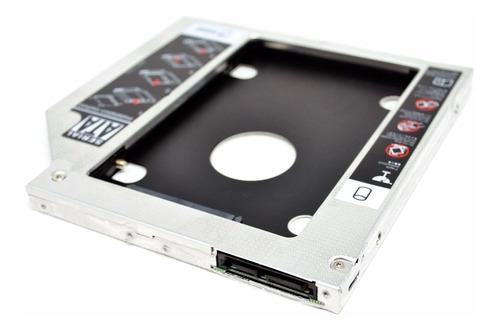 adaptador caddy ssd hdd 9.5mm p/ apple macbook, macbook pro