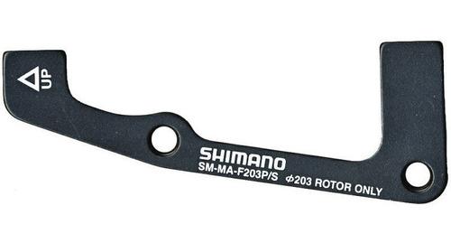 adaptador caliper delantero shimano sm-ma-f 203 p/s - racer