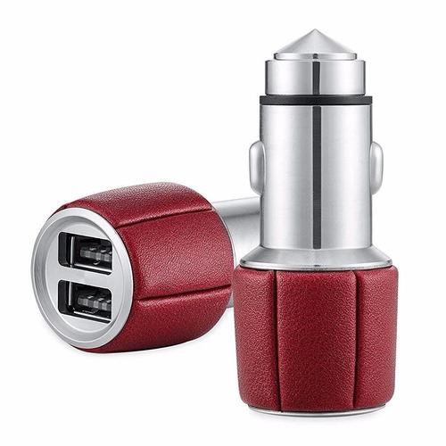 adaptador car cigarette mini bullet charger with safety