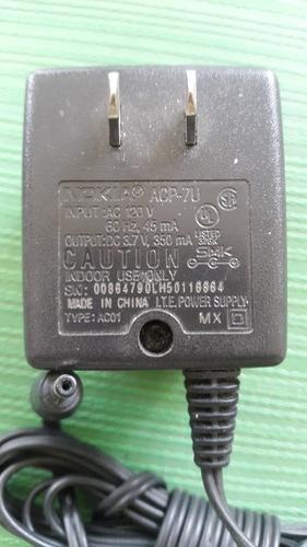adaptador-cargador nokia acp-7u (original)