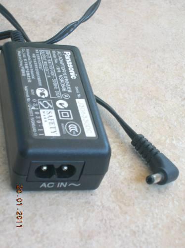 adaptador cargador panasonic vsk0646 ac/dc 240 v / 4,8 v 1 a