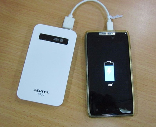 adaptador cargador portatil power bank 4200mah original