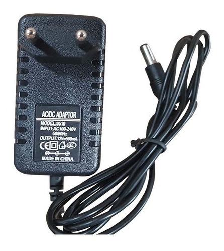 adaptador carregador ac dc 12v kit com 20 pçs