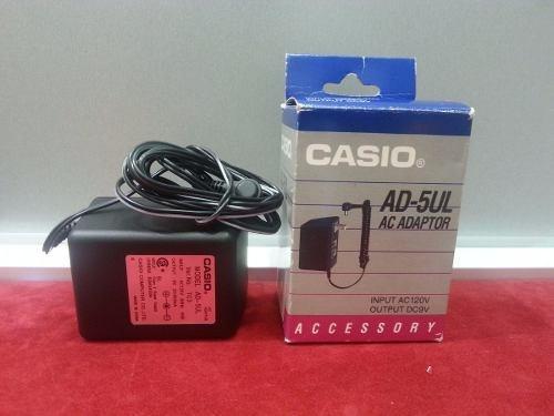 adaptador casio ad-5ul para teclado
