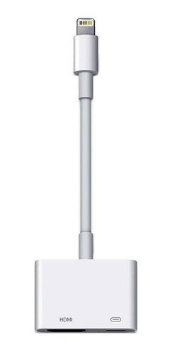adaptador chromecast iphone 6 7 8 tv hdmi ipad ipod cabo
