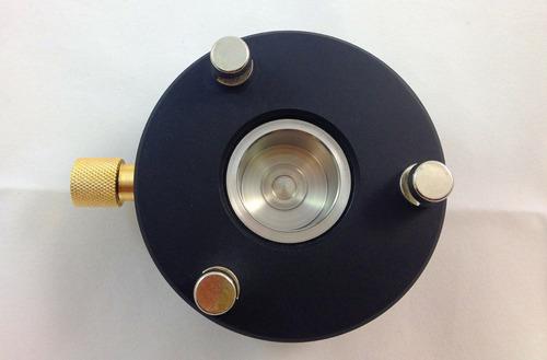 adaptador con centro removible rotatorio para base nivelante