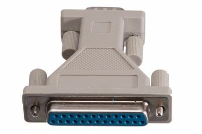 adaptador / conector db25 (hembra) a db9 (macho) sku-3181