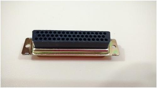adaptador / conector serial db50 (fêmea x fêmea)