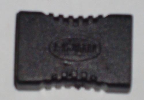 adaptador conector unión hdmi hembra - hembra pc laptop