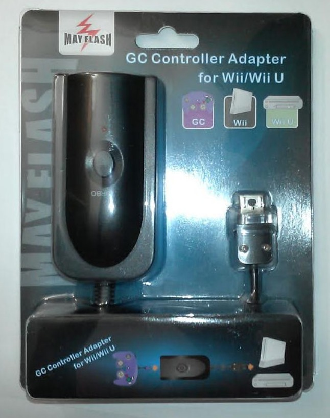 Adaptador Controle Gamecube Para Wii Wiiu Snes/nes Mini