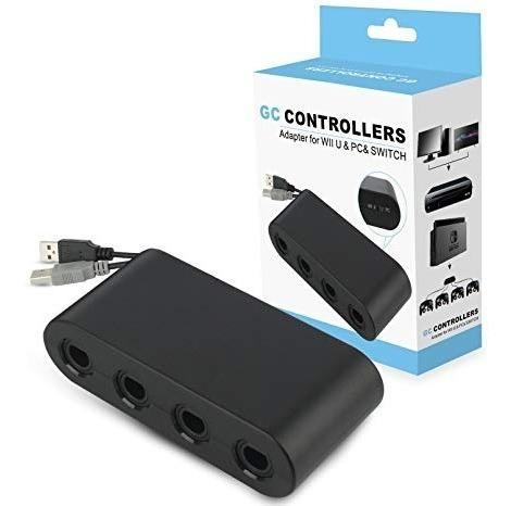 adaptador controles gamecube nintendo switch nuevo sellado!!