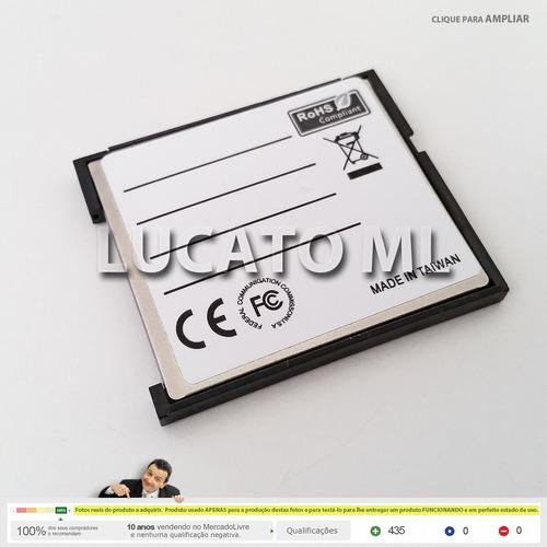 adaptador conversor de sd wifi para compact flash | 3rd np