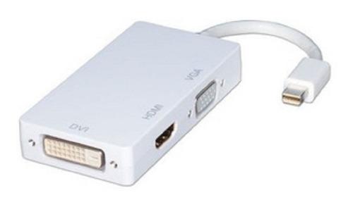 adaptador conversor mini display port vga dvi hdmi (3 en 1)