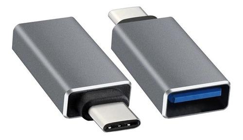 adaptador conversor usb 3.0 h jack usb 3.1 tipo c m plug otg