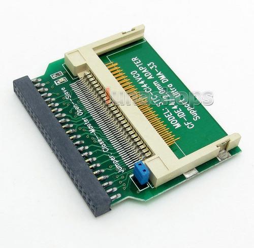 adaptador convertidor cf a ide 44 pines hembra 2.5 pulgadas