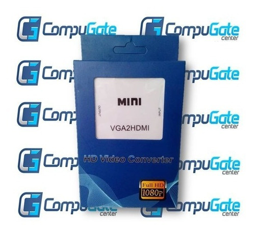 adaptador convertidor con audio