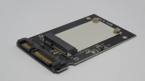 adaptador convertidor de ssd msata a disco sata de 2.5 pulg