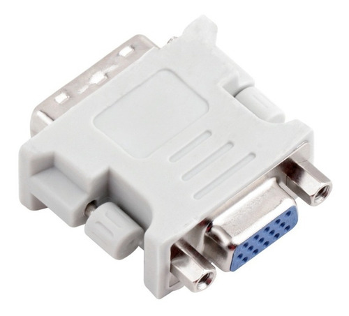 adaptador convertidor dvi a vga 24+5 pines s-e -