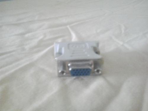 adaptador convertidor dvi-i 24+5 a vga