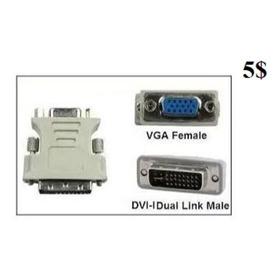 Adaptador Convertidor Dvi-i 24+5 Vga