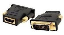 adaptador convertidor dvi macho 24+5 a hdmi hembra calidad