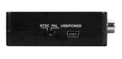 adaptador convertidor hdmi a rca audio y video tv 1080