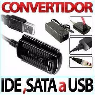 adaptador convertidor ide sata accesorios