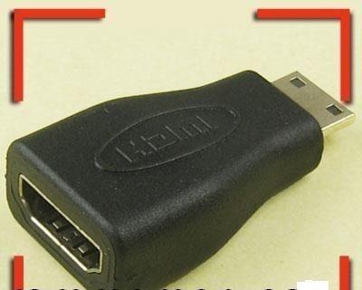 adaptador convertidor mini hdmi macho a hdmi hembra 1080p tv