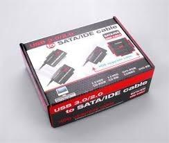 adaptador convertidor sata/ide a usb 3.0/2.0 disco 2,5/3.5