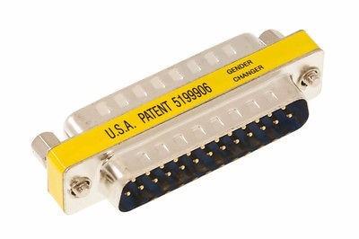 adaptador db25 macho/hembra paralelo lpt1 centro csydee pc
