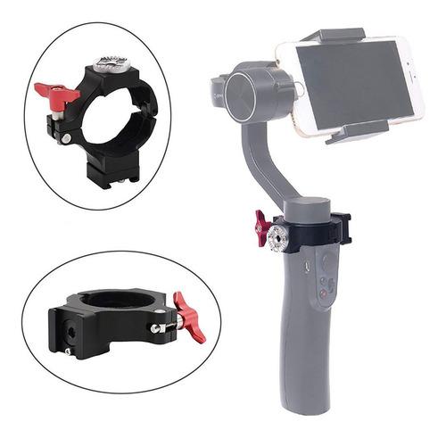 adaptador de abrazadera de aluminio q para dji osmo mobile 2